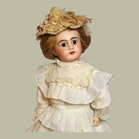 "21"" Antique German Doll Simon & Halbig  Rare Mold 749 ~~ Layaway~ Please wait for an invoice ~~~ Two outfits~~"