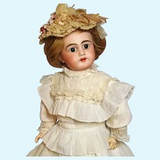 """21"""" Antique German Doll Simon & Halbig  Rare Mold 749 ~~ Layaway~ Please wait for an invoice ~~~ Two outfits~~"""