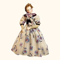 "19"" Doll Dress French Fashion Bebe Jumeau Gaultier or  German Kestner Simon Halbig ~~ Please contact for an invoice ~~~"