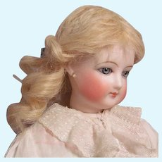 """Mohair Blond Wig French Bebe German Fashion Doll ~~ Head circumference 6"""" -7"""""""