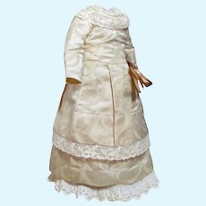 """16"""" Doll Dress French Fashion Lady Doll Bebe Jumeau Gaultier or German Kestner Simon Halbig ~~ please contact for an invoice"""