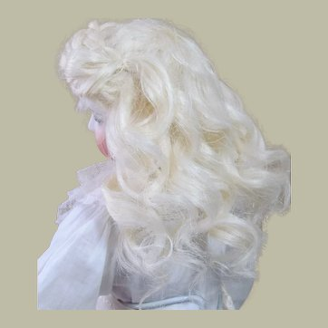 Mohair Wig French Fashion Bebe or German Doll ~~ Head circumference 7 inch