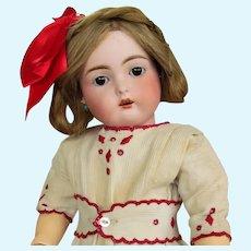 """17"""" Antique Rare German Cassel Bisque Doll INCISED """" C """"  Kammer & Reinhardt Kestner  192 ~~ Layaway~"""