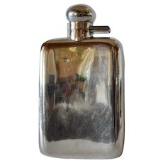 A George VI silver spirits flask, Robert Pringle & Sons, London.