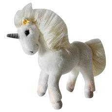 Vintage Steiff Unicorn.