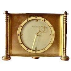 Jaeger LeCoultre table clock., art deco , 1940s.