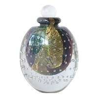 Vintage , 1988,  Eickholt, hand blown scent bottle.