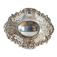 Sterling silver small  dish, 1911, Birmingham , England.