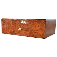 A late vintage French Daniel Moevus humidor.