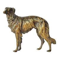 Viennese Bronze Dog, 1910c.