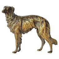 Viennese Bronze Dog, 1910c.