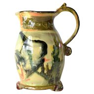 Ceramic jug by Bogdan Saczhowski ( Poterie du Cabirou, France ).