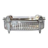 A W.M.F. Geislingen silver - plated Brittania art nouveau dish/basket 1900c.