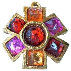 A vintage Alexis Lahellec of Paris pendant, 1980s.