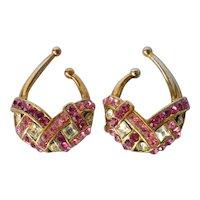 Vintage, 1980s, Italian, Idemaria ear cuffs.