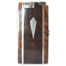 A vintage Ronson ' Pal' combination lighter/case, 1940s - 1950s.