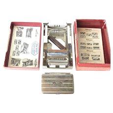 An Allegro (Swiss ) early vintage blade honer/stropper.