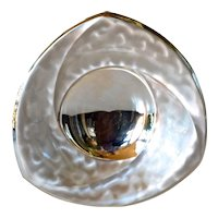 A WMF - Ikora art deco silver plated dish, 1930 - 1940c.