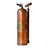 An early  vintage Muratori, Paris copper/brass sprayer.