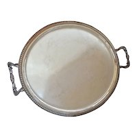 An Italian 800 standard silver oval two handled tray, Argenteria Vicentina, Viale Grappa, Vicenza, 1960c.