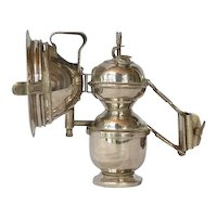 "Bicycle/motorcycle carbide lamp, "" Gloria "", early 1900s."