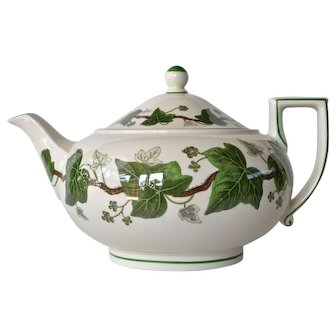 Wedgwood , 'Napoleon Ivy' vintage teapot.