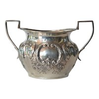 Sterling silver  sugar bowl - Birmingham - 1917.