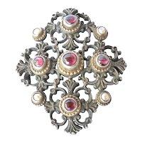 A Victorian, Renaissance revival , pendant/brooch, 19th century.