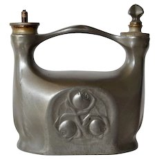 A Kayserzinn /Hugo Leven pewter cigar lighter, 1905c.