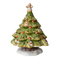 Villeroy & Boch vintage Christmas Tree candle holder.