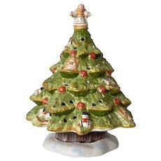 Villeroy & Boch vintage Christmas Tree candle holder.