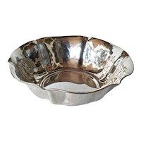 Silver (800 ) dish, vintage Italian.
