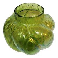 4 ½ tall 20th Century Iridescent Art Glass Vase