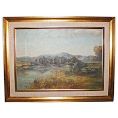 New Hampshire Landscape Painting – Carl T. Anderson  oil