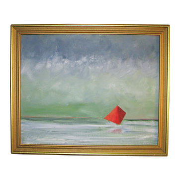 "Kevin Doyle o/c Painting - ""Red Sail"""