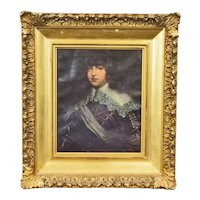 19th C. Oil of 17th C. Nobleman