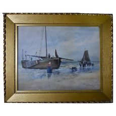 19th C. Watercolor, Henry Plympton Spaulding (1868-1948)