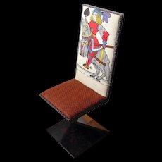 "King of Spades Vintage ""Z"" Chair – Ca. 1920 SPADES"
