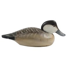 Vintage Ruddy Duck Drake Decoy – DL Waterfield