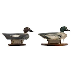 Pair of Goldeneye Decoys – Guy Soule