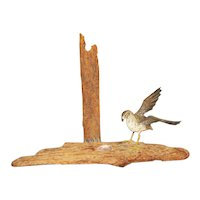 Stan Sparre Miniature Carving of a Gull