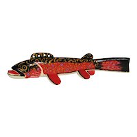 Two Contemporary Fish Decoys -Signed