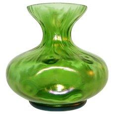 Loetz Creta Rusticana Art Glass Vase