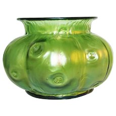 1899 Loetz Rusticana Art Glass Vase