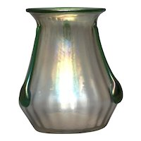 Bohemian Art  Glass Vase - Kralik