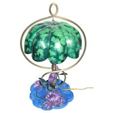 Pairpoint Art Nouveau Water Lilly Lamp