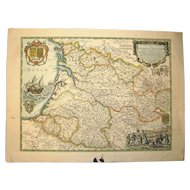 Ancient Map of Guyenne & Guascogne – 1650 – N. Sanson