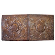 Decorative Mounted Antique Tin Ceiling Panels