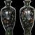 Pair of Japanese Cloisonne Vases