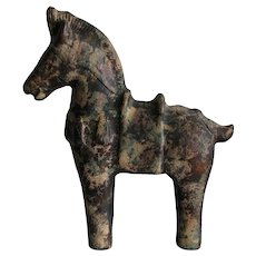 Archaic-style Cast Iron  Horse